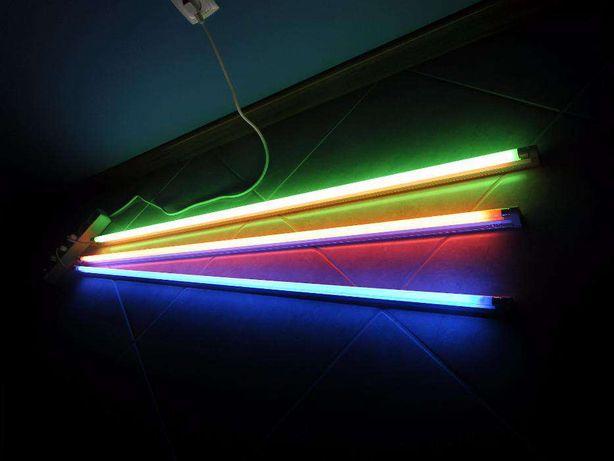Lâmpadas de cor fluorescente bar 120cm 28w