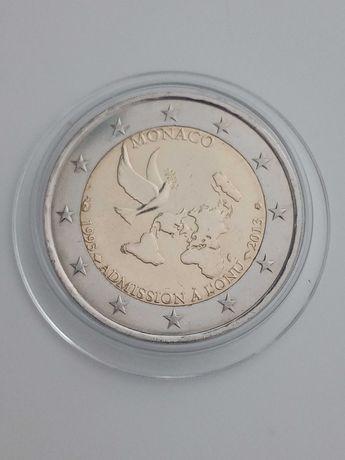Moeda comemorativa de 2 Euros - Monaco 2013