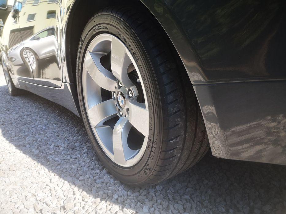 Koła oryginał BMW E60 STYLING 122 z nowymi oponami 245/45/17 Tychy - image 1