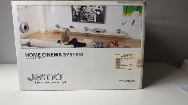 Zestaw kolumn JAMO Home Cinema A210PDD