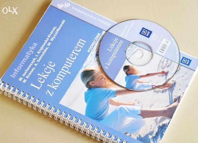 IV, V, VI kl podręcznik informatyka LEKCJE z KOMPUTEREM 4-6 + płyta CD