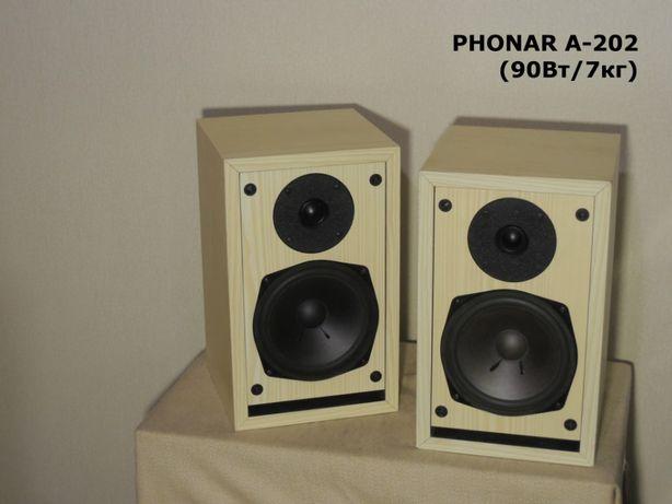 Редкая аудиофильская немецкая акустика PHONAR A-202 (90Вт/7кг)(ЗВУК!)