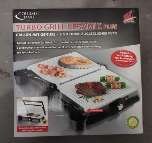 Gourmetmaxx Grill Elektryczny Z Powłoką Ceramiczną Turbo 1800 W