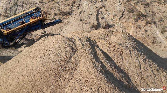 Żwir piasek czarnoziem tłuczeń gruz prace ziemne