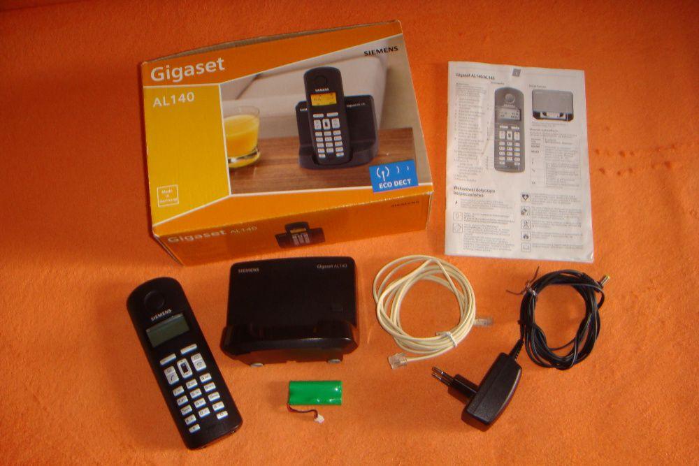 Telefon bezprzewodowy Siemens Gigaset AL-140 cały zestaw Jelenia Góra - image 1