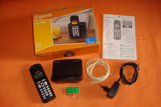 Telefon bezprzewodowy Siemens Gigaset AL-140 cały zestaw