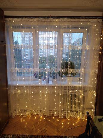 Гірлянда на вікно 3х2,5м