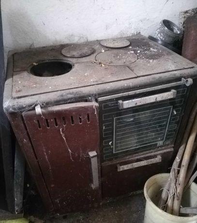 Stara Kuchnia Węglowa z piekarnikiem