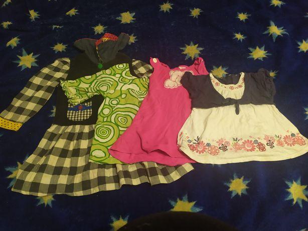 Летние платья на девочку