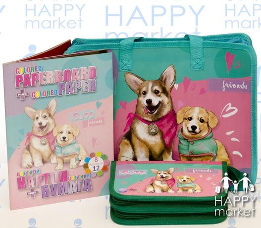 Набор школьный подарок первокласснику Kidis 3 предмета для девочки