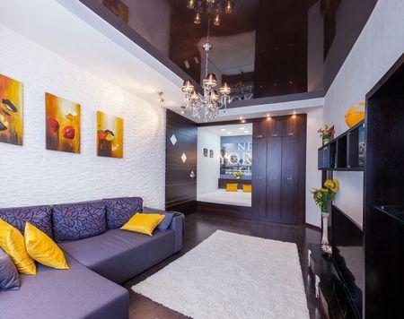 Аренда Аркадия посуточно спальня кровать диван 2+2 балкон море 500м