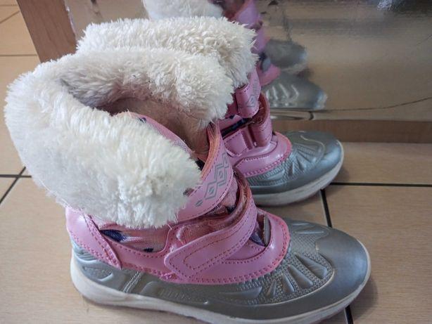 Buty zimowe dla dziewczynki