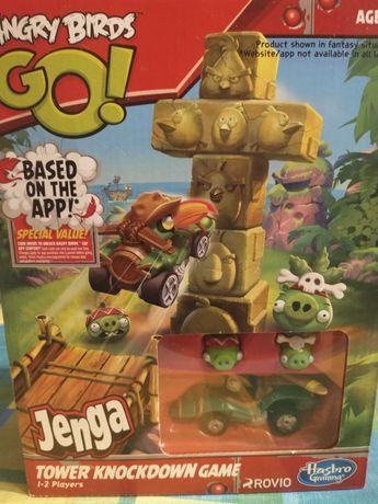 Angry Birds Rower Knockdwn Game
