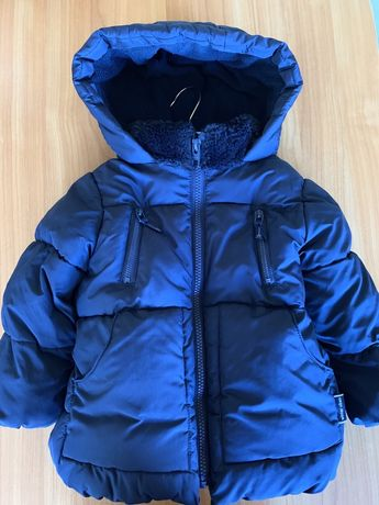 Продам Куртка на девочку пуховая Zara на 2-3 года