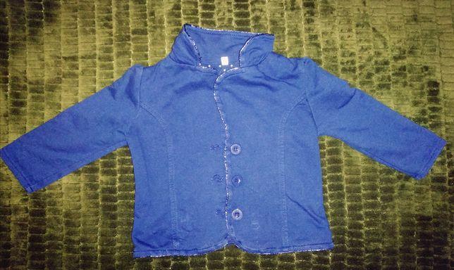 Пиджак стильный, темно синий