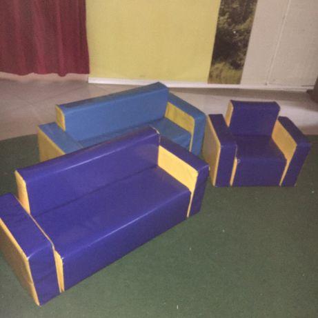 Детский диван мягкий модуль