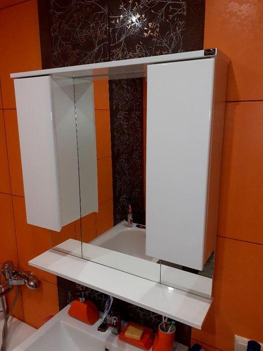 Шкаф с зеркалом для ванной комнаты Луганск - изображение 1