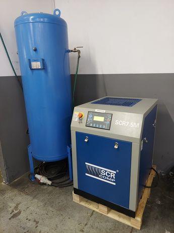 Sprezarka srubowa kompresor 5.5 kw
