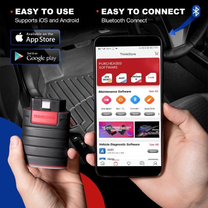 Máq. Diagnostico Auto launch thinkdiag pro Bluetooth ( NOVA )