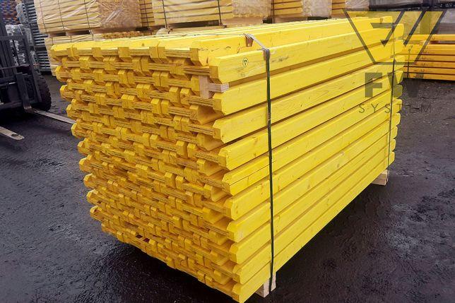 Dźwigary dźwigar drewniany szalunki stropowe Doki Legary Podpory