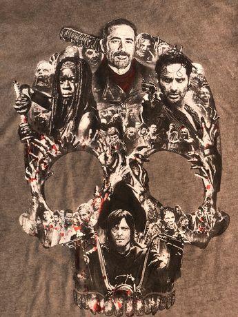 Koszulka T- shirt the Walking Dead oryginał tshirt XS 164 170
