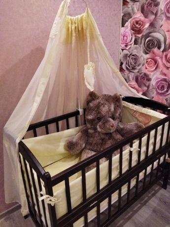 Детский манеж (кроватка)