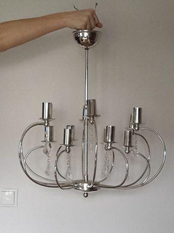 lampa wisząca, żyrandol 12-to ramienny