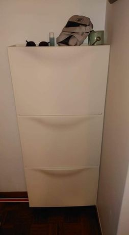 Vendo 3 sapateiras Ikea brancas - 20€