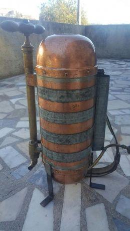 Máquina de sulfato antiga