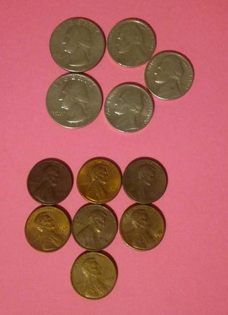 Stare monety amerykanskie
