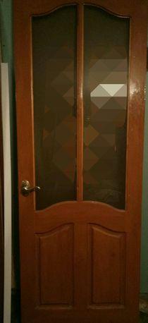 Дверное полотно из натурального дерева