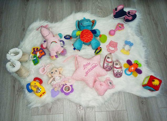 Mama niemowlę -krążki laktacyjne,nakładki, zabawka,pozytywka, wyprawka
