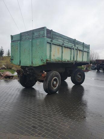 Przyczepa wywrotka 16 ton Niemka pneumatyczna hl hw Pronar bss
