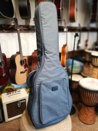 pokrowiec na gitarę akustyczną Hadr Bag GB-15-41 szary gruby gig bag
