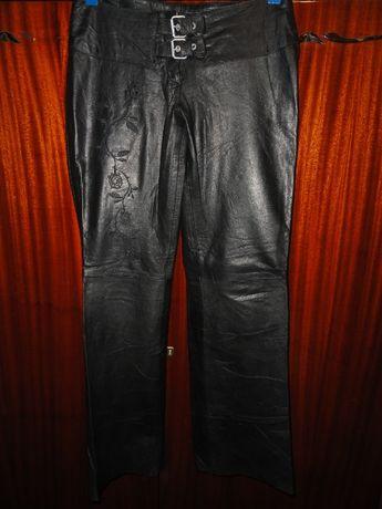 Эксклюзивные кожаные брюки штаны (Leather натуральная кожа лайка)