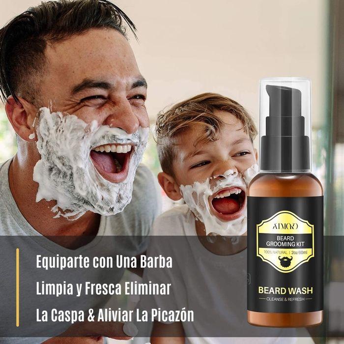Shampoo para Barba - Natural - 2 Oz - Barbearia - Madeira