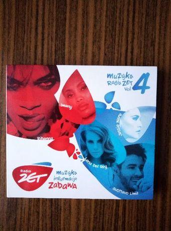 """2płyty cd składanka""""MuzykaRadia Z. vol4""""m.in:Rihanna,JassieWare,Imany"""