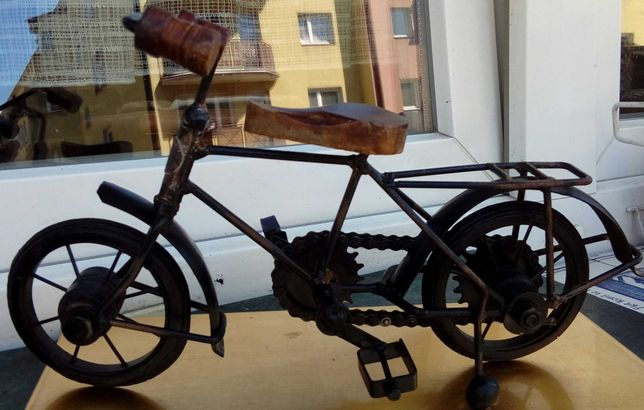 Rower stara miniatura model kolekcjonerski