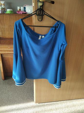 Bluzka bonprix 40/42 L/XL efektowne rękawy