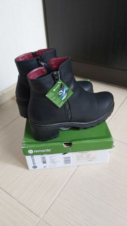 Remonte by Rieker фирменные женские ботинки р.41, 27 см