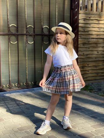 Хлопковый костюм для девочки Barberry