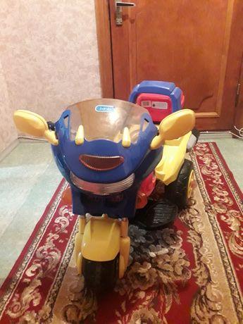 Продам мотоцикл на аккумуляторе