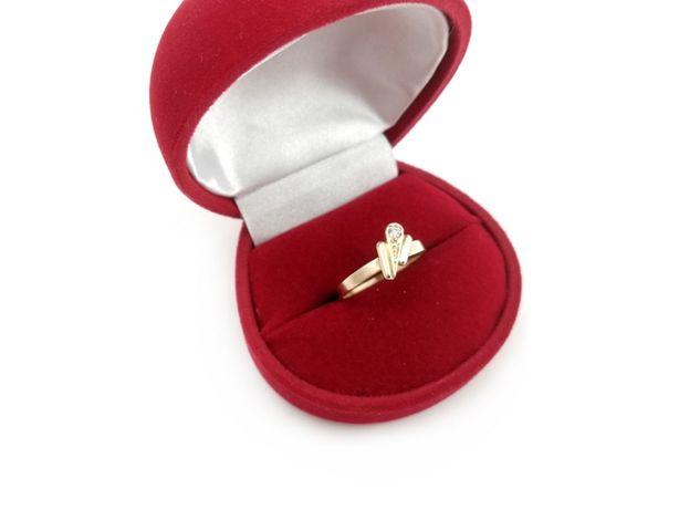 Złoty pierścionek z CYRKONIĄ 585 1,81G R14