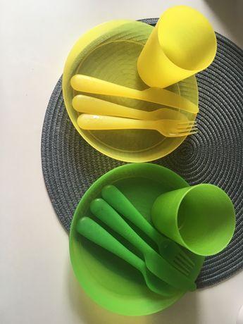Ikea икея набор детской посуды