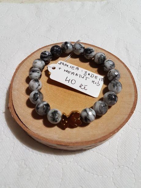 Bransoletka z kamieni półszlachetnych Jadeit