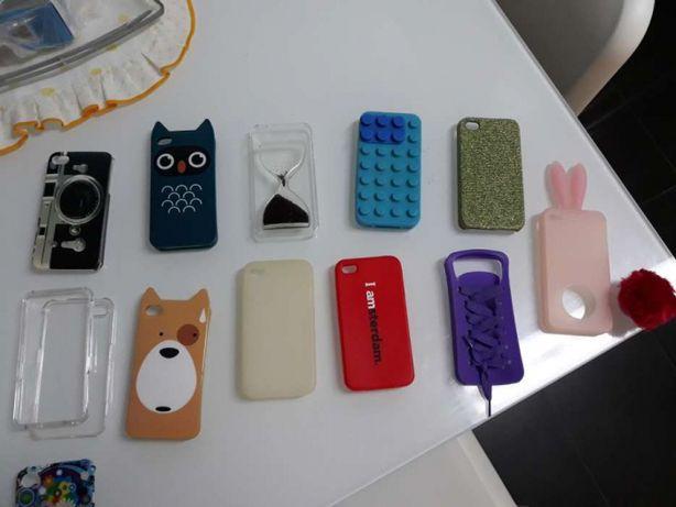 Conjunto capas iphone 4s TODAS