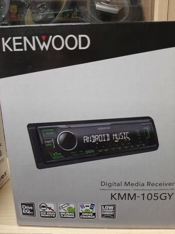 Автомагнітола Kenwood KMM-105GY