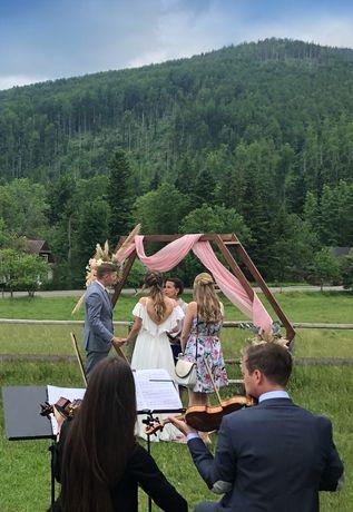 Profesjonalna oprawa muzyczna ślubów - skrzypce, kwartet, wokal