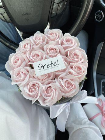 мильні букети,квіти з мила,мильні рози,цветы,квіти,неувядающие розы