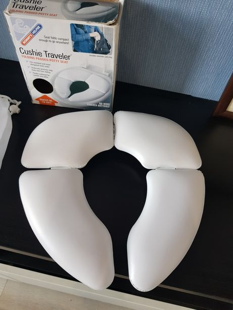 Портативная складная накладка, сидушка на унитаза